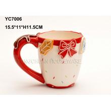 Ceramic Hand Painted Wedding Coffee Mug