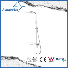 Made in China Brass Shower Panel with Fiber Glass Mixer