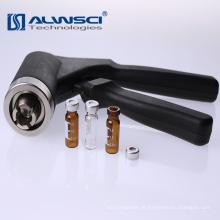 China supplier 11mm crimper alumínio crimper mini ferramentas de crimpagem para frasco de espaço de cabeça