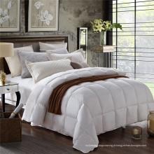 Hotel White Microfiber Consolador para conjuntos de cama (WSQ-2016009)