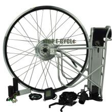 Chine bricolage pas cher prix roue pour vélo électrique conversion kit 350 W