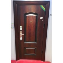 Zeitgenössische Holztür aus Holz für Zuhause