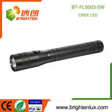 Factory Supply Aluminium Alloy Material 3 C taille Battery Used Portable High Power Best Cree xpg 5W led Emergency Flashlight