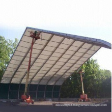 Aluminum Tent Assembly with 12m Long and 50 Years Lifespan
