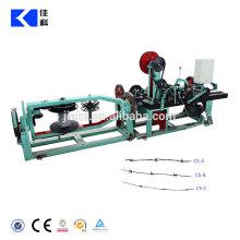 Equipamento de produto farpado torcido normal do fio dobro totalmente automático