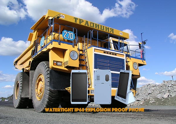 Watertight IP68 Explosion Proof Phone