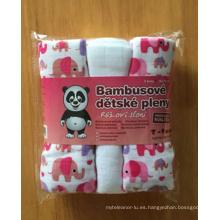 Pañal 100% de impresión de bebé de algodón (BC-BD1002)