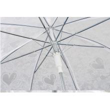 Transparent Long Handle Umbrella Imitates Lace Love Umbrella