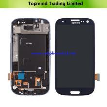 LCD para la pantalla táctil de la galaxia S3 I9300 LCD de Samsung completa