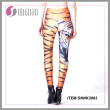 2015hot Sell Cheap Sublimation Printing Ladies Leggings Animal Printing Leggings