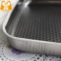 Poêles à frire en acier inoxydable triple Suqare