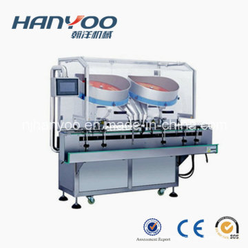 Double Head Four Channel Automatic Tablet Capsule Counting Machine