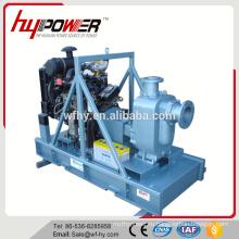 400M3 / H Дизельный насос высокого давления для воды установлен