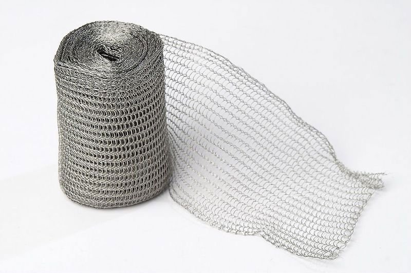 knitted filter mesh