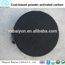 fórmula química carbón basado en polvo norit carbón activado