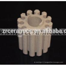 Cœurs céramiques industriels en cordiérite