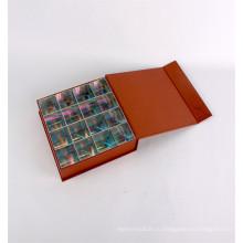 Роскошные необычные бумага картонной коробки подарка шоколада Упаковывая