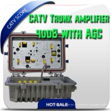 Impermeable al aire libre bidireccional CATV 2 Way RF Amplifier