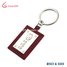 Impression de porte-clés en cuir personnalisée