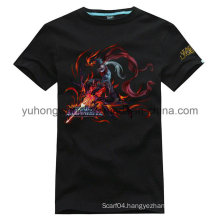 Hot Selling Good Quality Cotton Men′s Printed T-Shirt