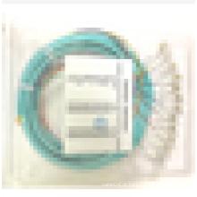1,5 m LC / UPC multimodo 12 vertentes 50/125 OM3 Fibra óptica Pigtails