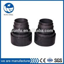 Professional design Black welded non-alloy steel pipe