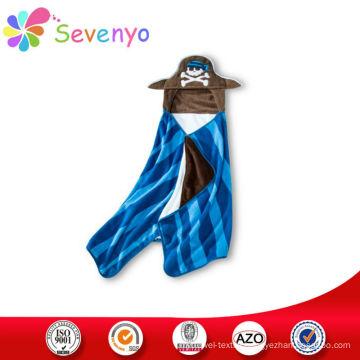 cartoon hoodie beach towel for baby China supplier