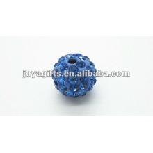 10mm shamballa clay crystal ball
