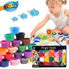 Fábrica directa de las ventas directas fácil de limpiar y conveniente para los niños pintura no tóxica del dedo