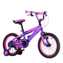 2017 China wholesale CE bicycle child bike/kids 4 wheels bicycle kids size 12/cheap new model baby bike kids