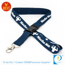 High Quality Customized Logo 3 D Screen Printed Lanyard for Meeting at Factory Price