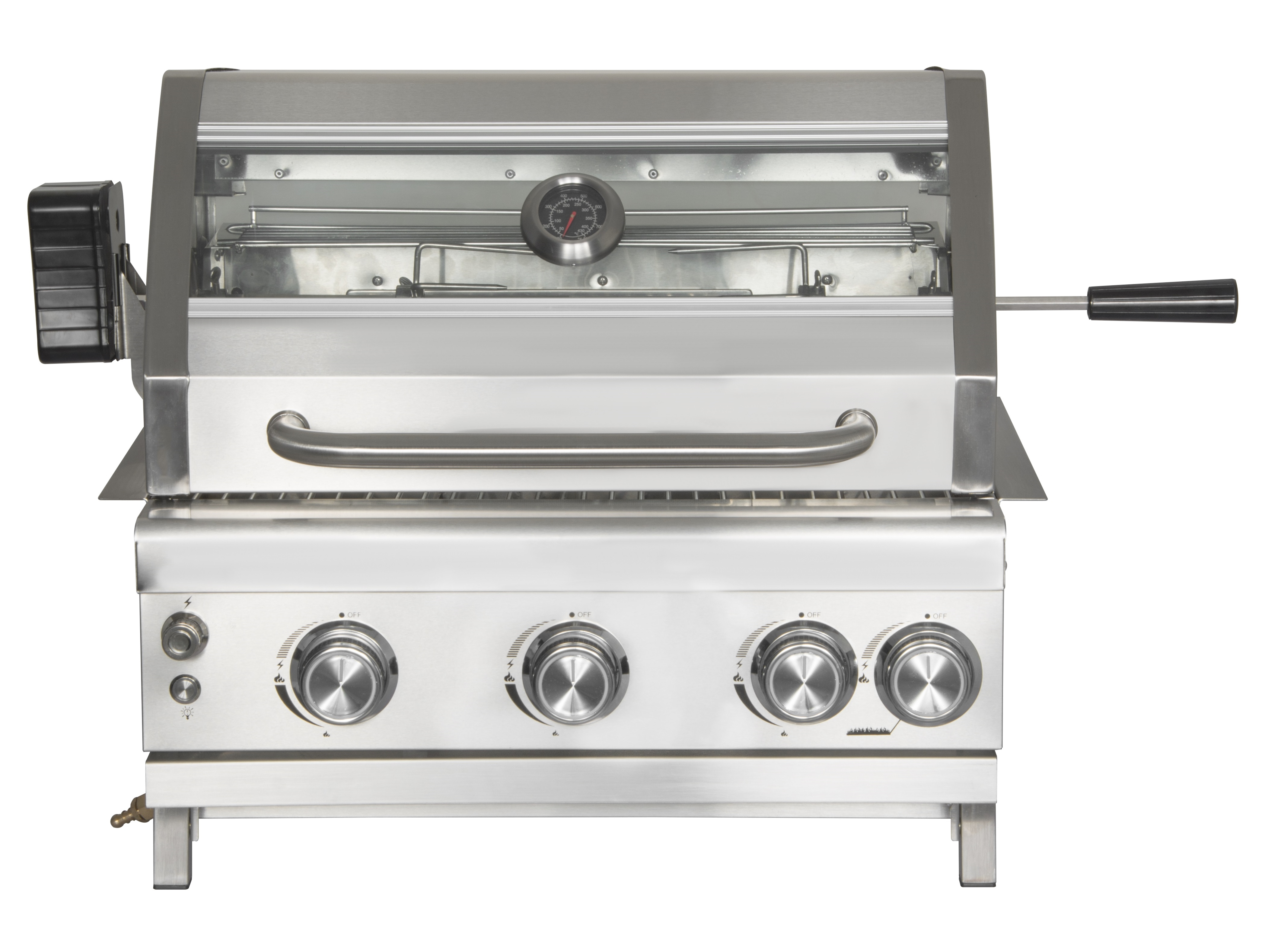 3 Burner Propane Built-In Gas Grill