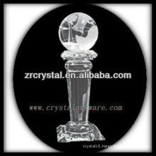 attractive design blank crystal trophy X017