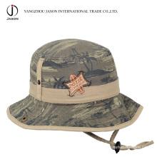 Сафари ведро шляпа Рыбак шляпа охотника шляпа Сафари шляпа с шнур стопор ленты