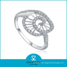 Melhor anel de prata 925 com CZ (SH-R0012)