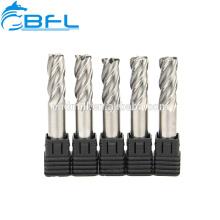 Концевые фрезы BFL с ЧПУ с твердосплавными канавками, алюминиевый фрезерный инструмент