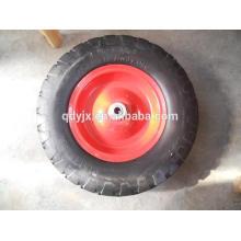 rodas de borracha maciças pequenas 4.80 / 4.00-8