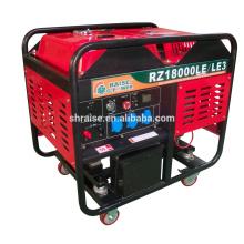 12kw открытый тип / бесшумный дизельный генератор с воздушным охлаждением