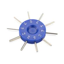 Longueur de lentille optique à haute précision Diamètre de la jauge de la jauge