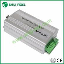 Decodificador de dmx APA102C decodificador de 2 * 170pixeles smd3535 smd5050 dmx