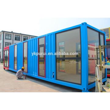 Casas de contêineres pré-fabricados modernos profissionais e casas de contêineres móveis e casas prefabricadas
