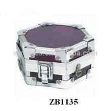 Caixa de presente da joia de alumínio novo estilo