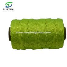 Yellow High Tenacity PE/PP/Polyester/Nylon Plastic Twisted/Braided Multi-Filament/Baler/Thread/Packing Line/Fishing Net String by Spool/Reel/Bobbin/Hank