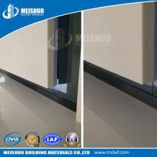 Plafond en métal durable pour la protection des murs