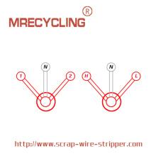 Gensco Wire Stripping Machine