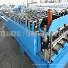 Decker Panel Steel Roll Forming Machine