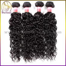 rohes unverarbeitetes reines indisches Haar, Import Export Spanien China
