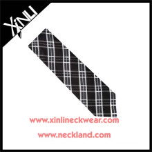 Dry-clean Only 100% Handmade Silk Fabric Tie Plaid