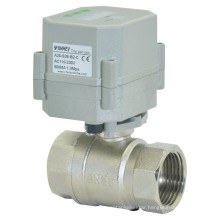2way 1 Inch Time Seting Brass Valve Automatic Drain Ball Valve (S25-N2-C)