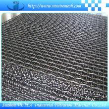 Grillage métallique ondulé d'acier inoxydable de structure forte